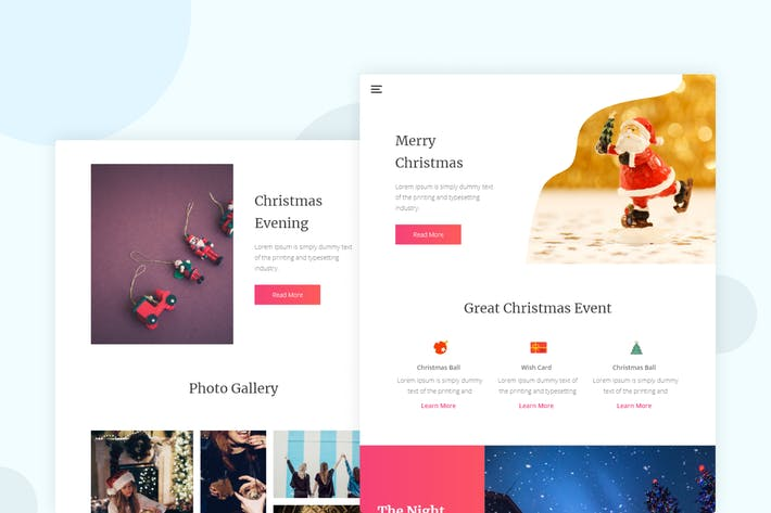 Thumbnail for Chirstmas - Email Newsletter
