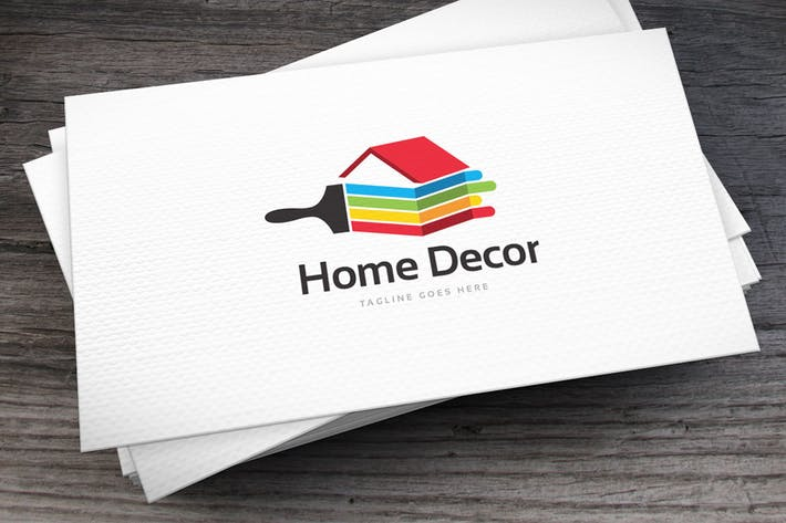 Thumbnail for Home Decor Logo Template