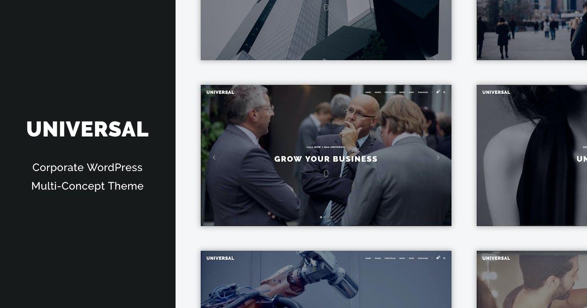 Download Universal - Corporate WordPress Multi-Concept Them by DankovThemes