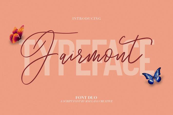 Thumbnail for Fairmont - Script Sans Font