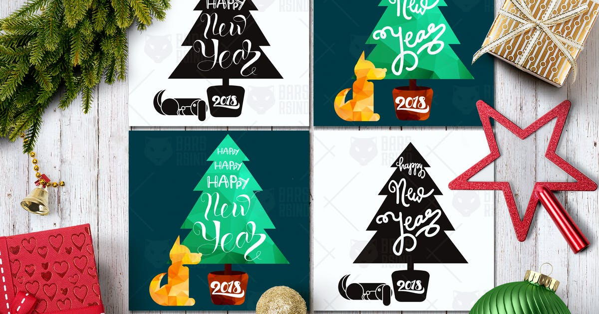 Download Happy New Year Greeting 2018 by barsrsind