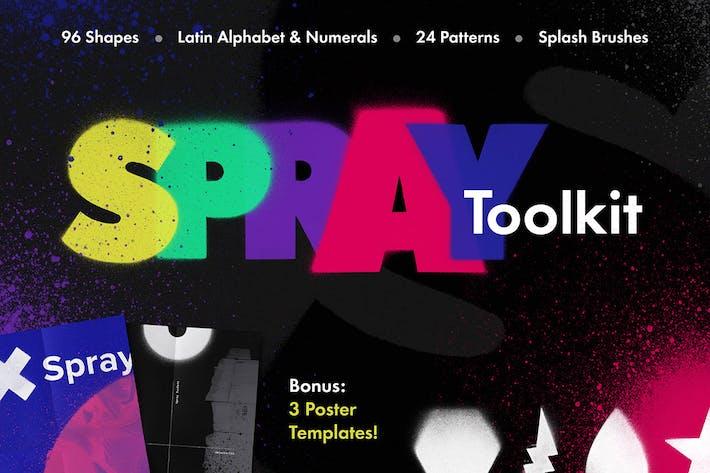 Thumbnail for Trousse à outils pour peintre en aérosol