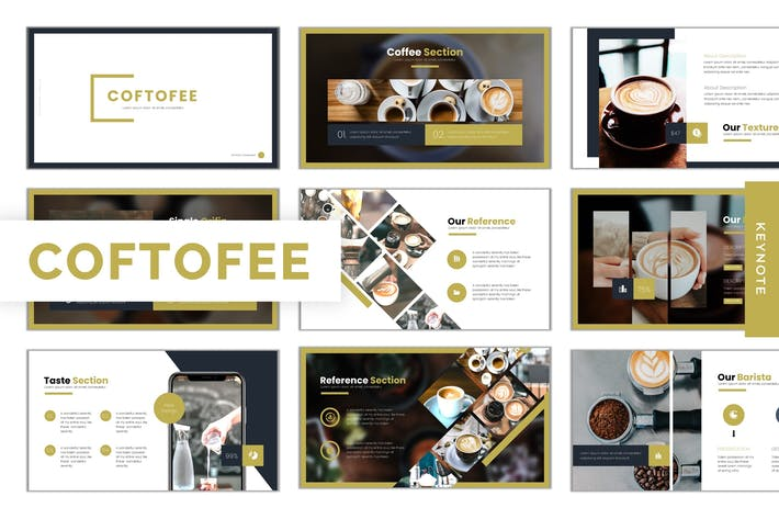 Thumbnail for Coftofee - Keynote Template
