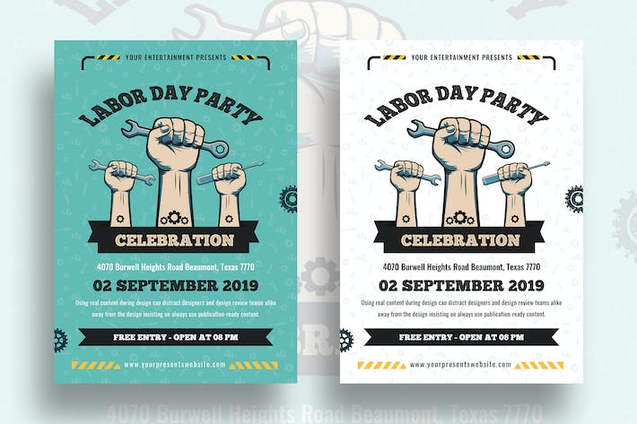 Thumbnail for Labor Day Flyer-06