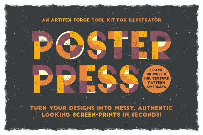 Cover Image For Poster Press - Screen-Print Creator