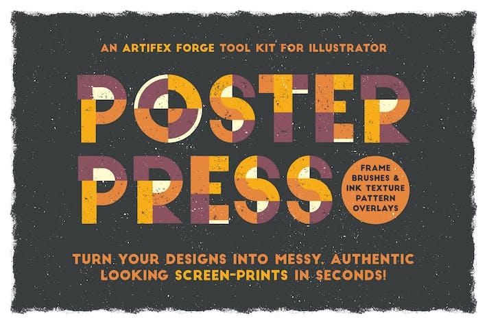 Thumbnail for Poster Press - Creator Screen-Print