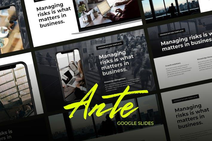 Thumbnail for Ante - Управление бизнесом