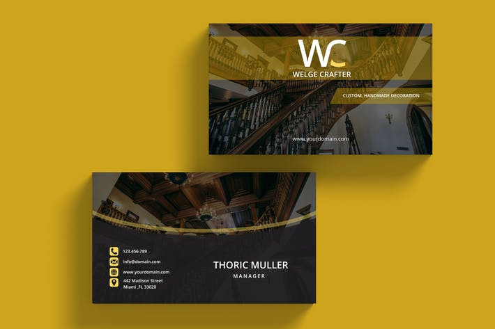 Cover Image For Luxury Business Card