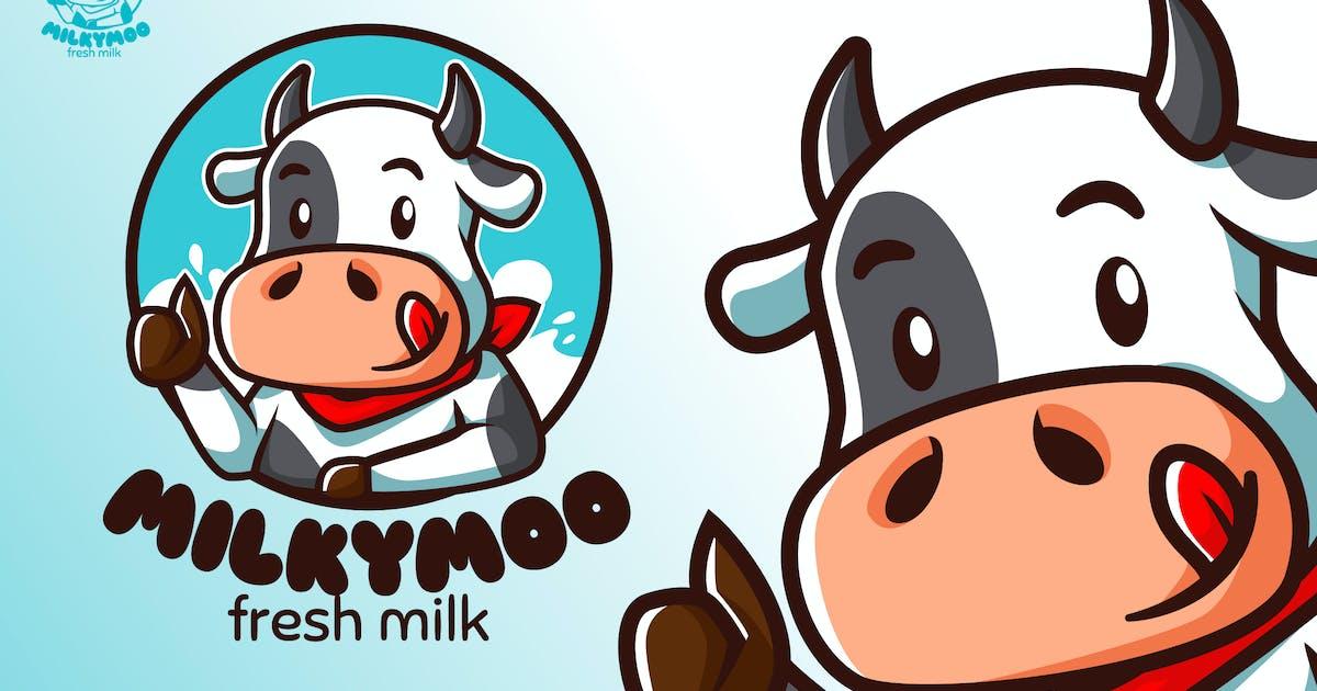 Download MilkyMoo - Mascot & Esport Logo by aqrstudio