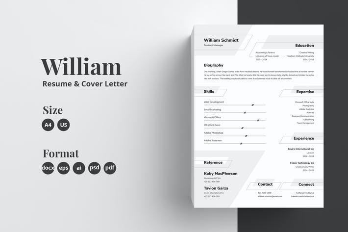 Thumbnail for Resume_08_William CV