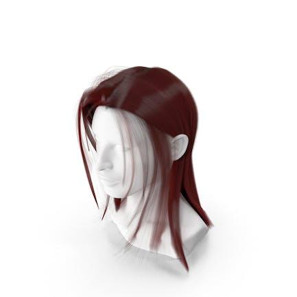 Feminine Red Hair