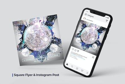 Futuristic Flyer & Social Post