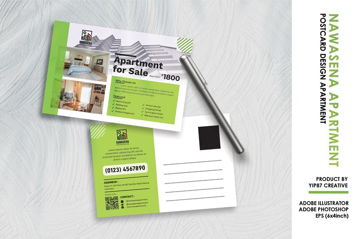 Thumbnail for Appartement - Carte Postale Investissement Immobilier