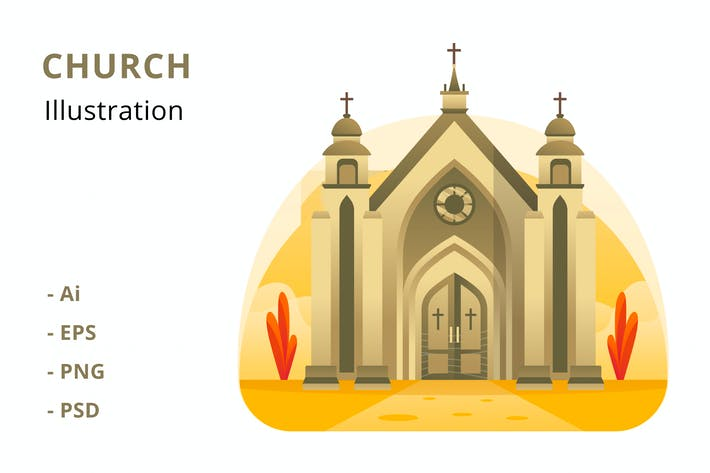Thumbnail for Church Illustration