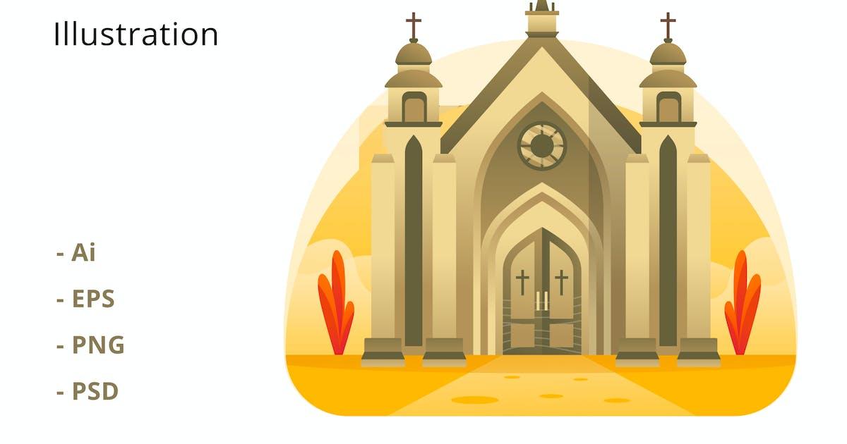Download Church Illustration by deemakdaksinas