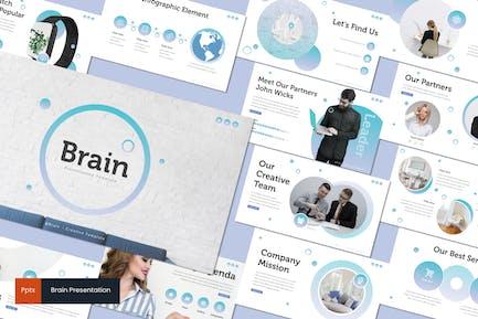 Brain - Powerpoint Template