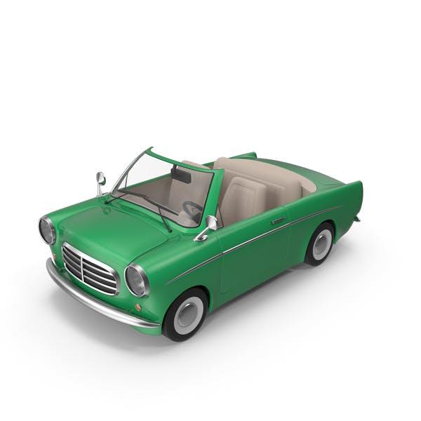 Мультфильм автомобиль зеленый