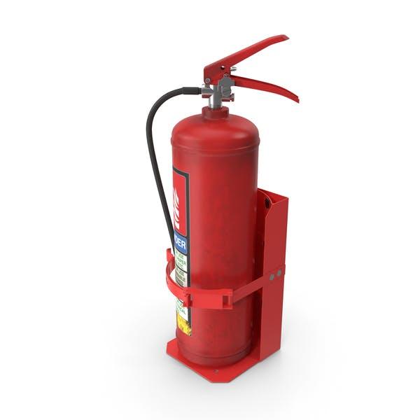 Heavy Duty Marine Bracket with Fire Extinguisher