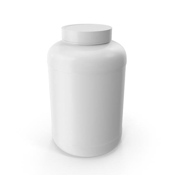 Пластиковые бутылки Широкий рот 2 4 Галлон Белый