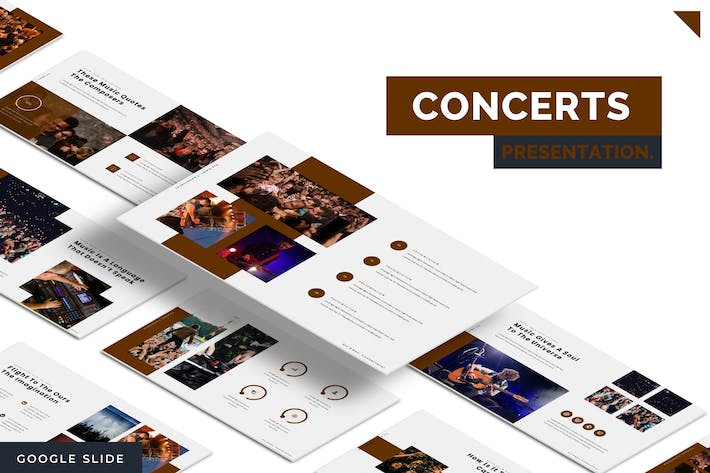Thumbnail for Concerts - Google Slide Template