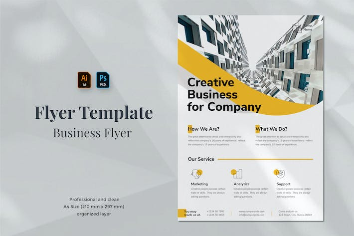 Thumbnail for Business Flyer Template 1.1