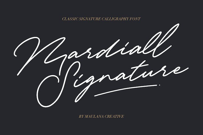 Thumbnail for Fuente Signature de Mardiall