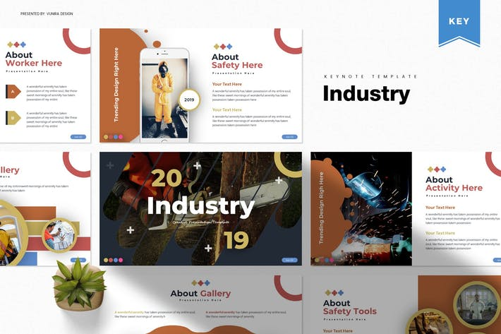 Thumbnail for Industry | Keynote Template