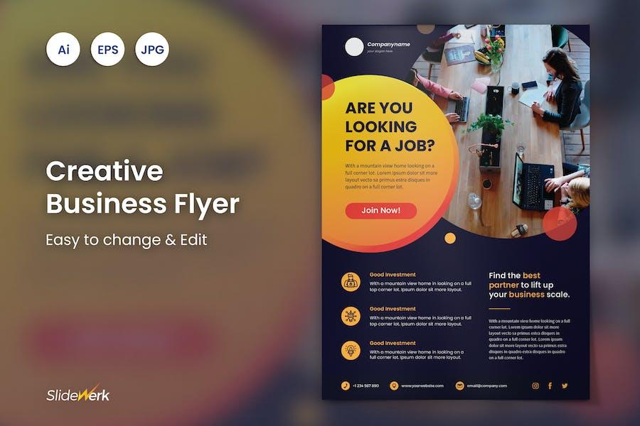 Creative Business Flyer 41 - Slidewerk