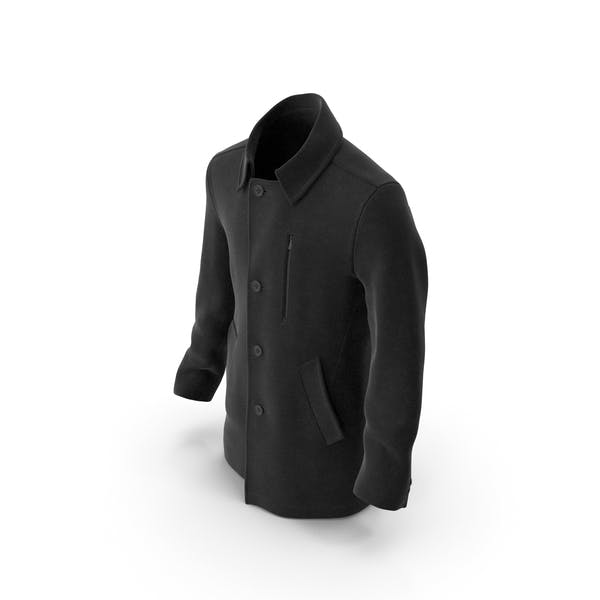 Thumbnail for Mens Coat Black