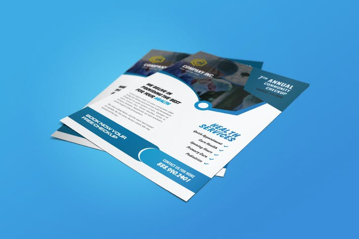 Thumbnail for Medical Flyer Template