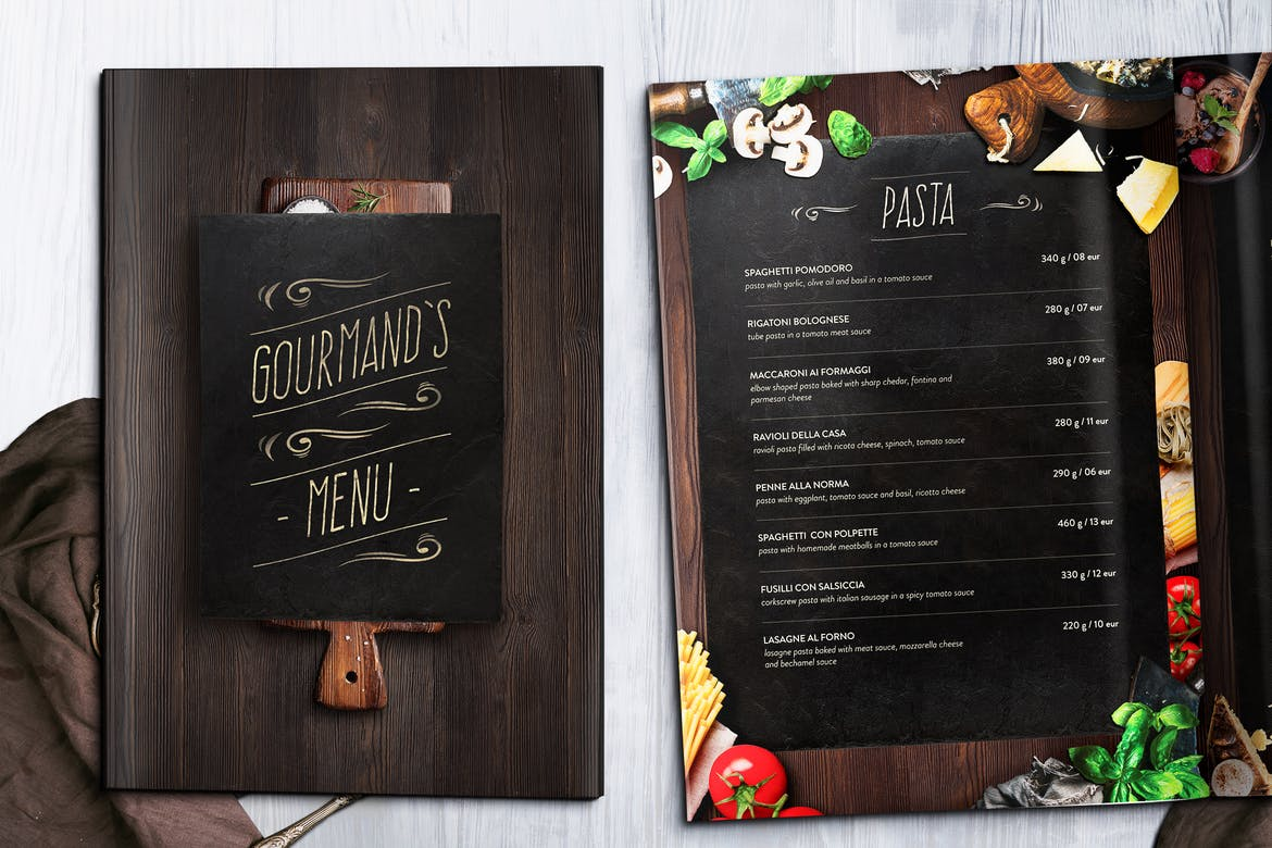 40 Effective Psd Restaurant Menu Design Templates Bashooka