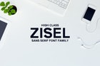 Zisel Sans Fonts Family Set