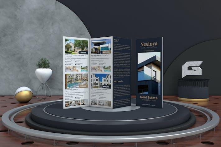 Thumbnail for Nestoya - Real Estate Trifold Brochure