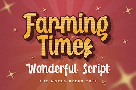 DS Farming Times - Script