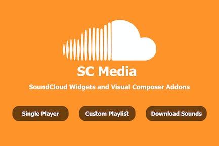 SC Media - SoundCloud Widgets and Visual Composer
