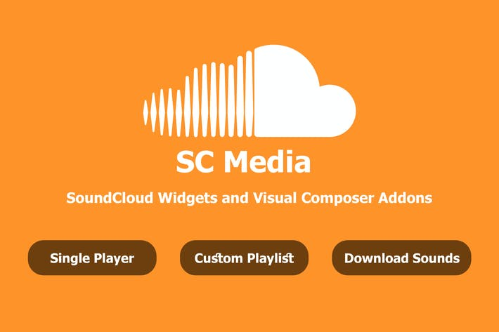 Thumbnail for SC Media - SoundCloud Widgets and Visual Composer