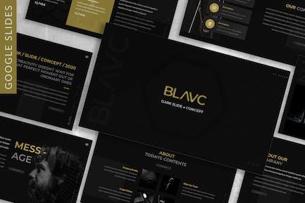 Blavc - Business Google Slide Template
