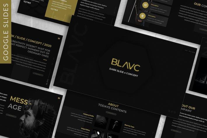 Thumbnail for Blavc - Business Google Slide Template
