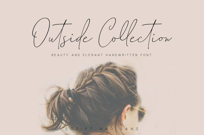 Thumbnail for Outside Collection Signature Font