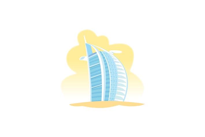 Thumbnail for Burj Al Arab Wahrzeichen Vereinigte Arabische Emirate