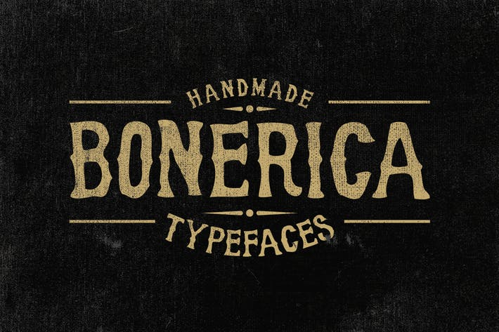 Cover Image For Bonerica Typeface