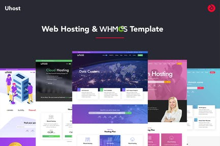 Uhost - Web Hosting & WHMCS Template