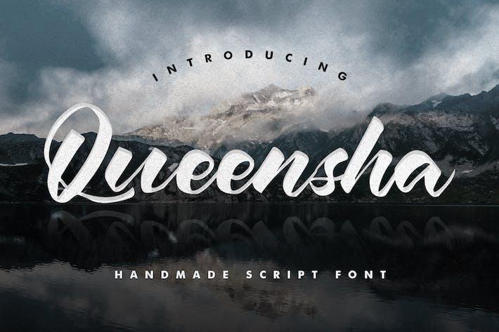 Queensha - Handmade Script Font