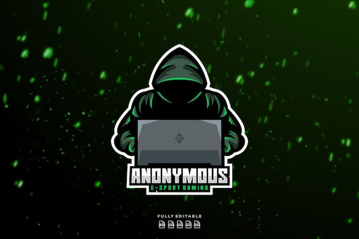 Thumbnail for Anonymous Hacker Logo