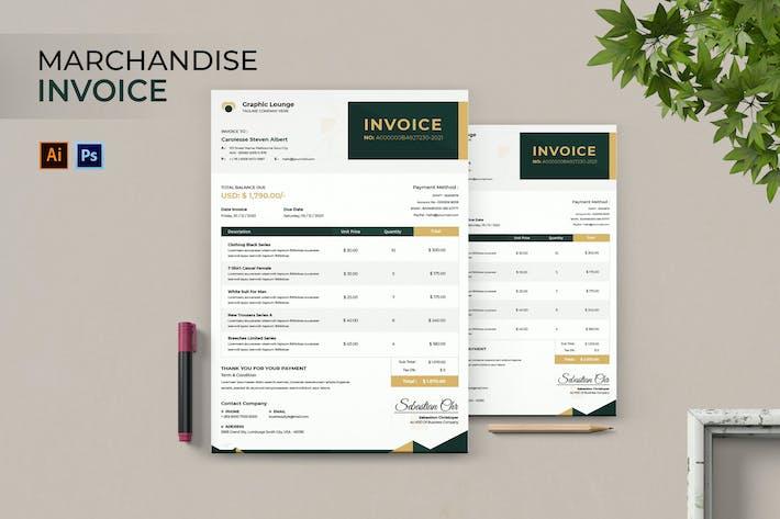 Merchandise Store Invoice