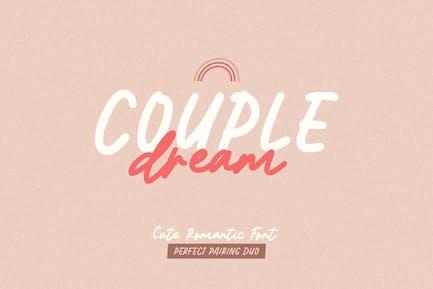 Couple Dream Font