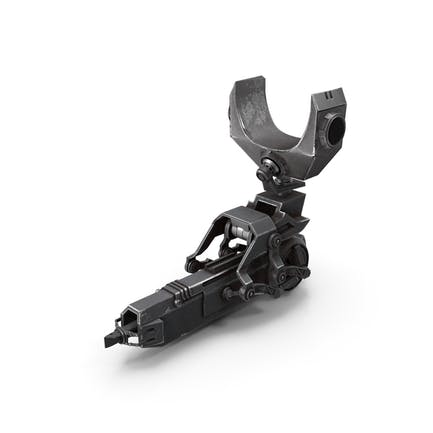Sci-Fi Harpoon Gun