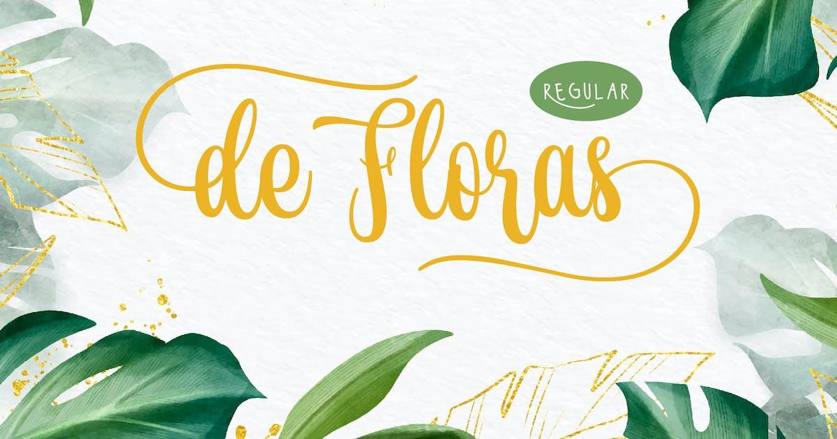 Download de Floras - Regular by DikasStudio