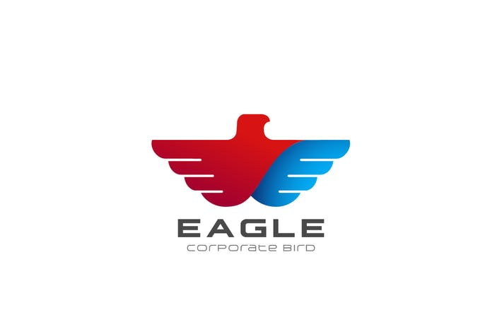 Thumbnail for Logo Eagle Wings Flying abstract Bird