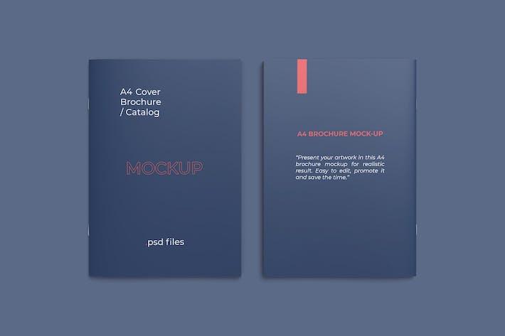 Thumbnail for Couvertures avant et arrière maquette de catalogue A4
